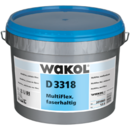 WAKOL D 3318 MultiFlex, contains fibre - the universal adhesive against indentations
